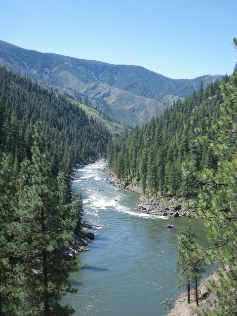 Campbell's Ferry, River of No Return Wilderness