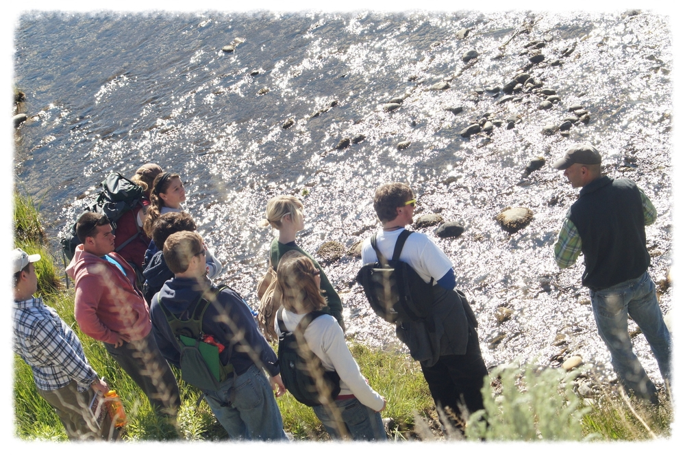 Class on the Gros Ventre (Xavier Expeditions photo)