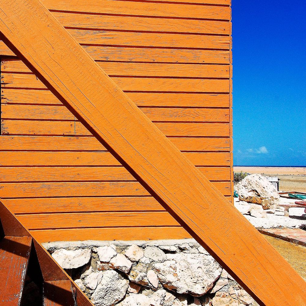 Beachside shack, Aruba