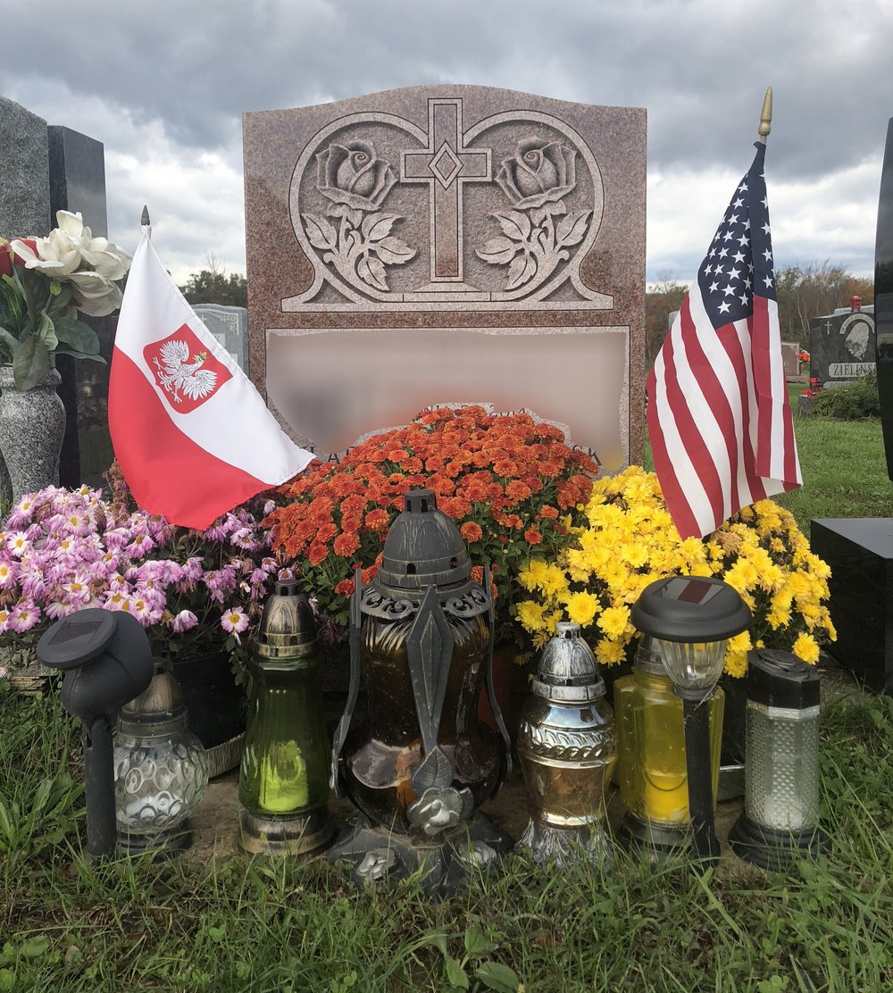 NEW- Grave Decor Service -