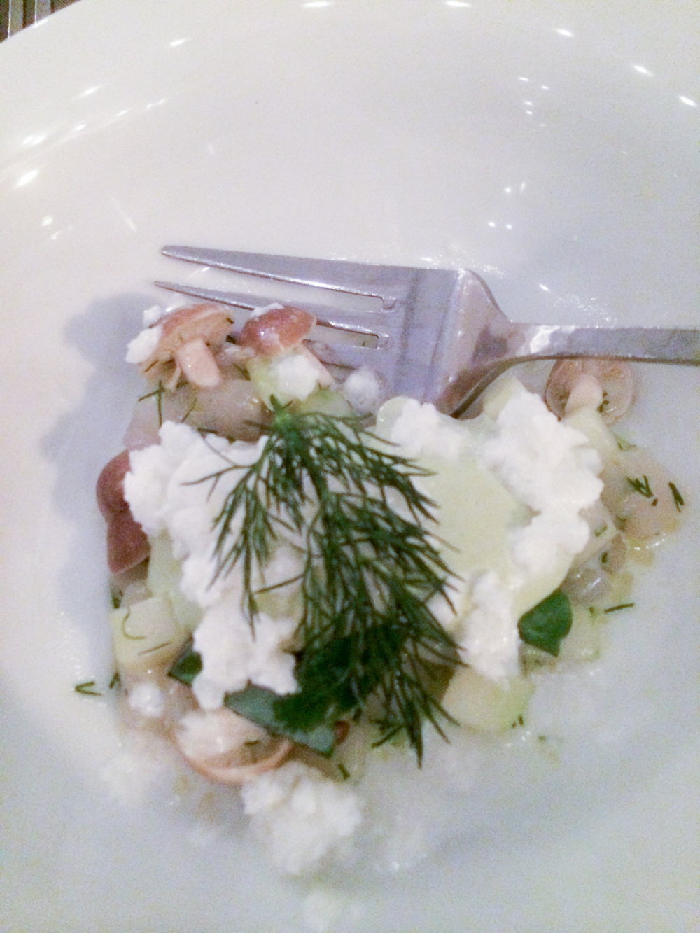 Scallop Tartare with Iced Eucalyptus