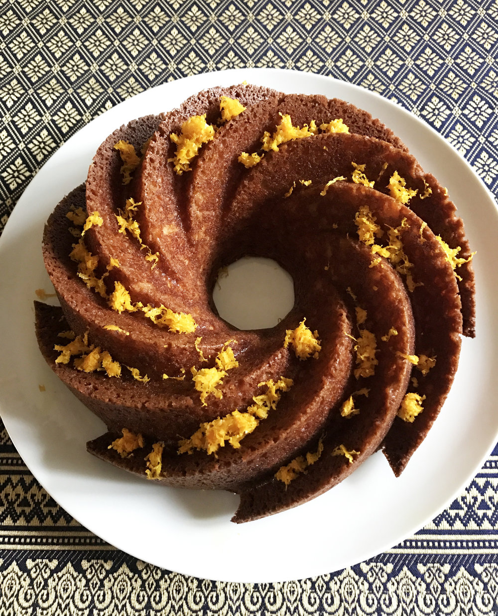 Buttery Orange Cake