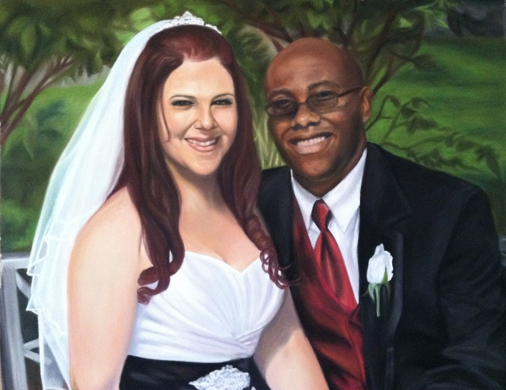 """Wedding Portrait Detail"""