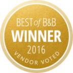 Best of B&B Winner 2016 Award, Seattle