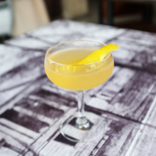 SIDECAR Ingredients: Watershed Bourbon | Cointreau | Lemon