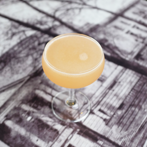 FRENCH BLONDE Ingredients: Watershed Gin | St. Germain | Lillet | Grapefruit Juice