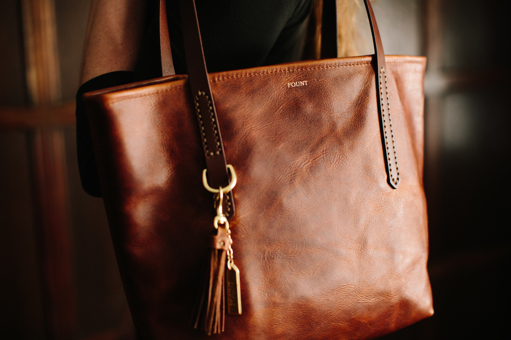 Fount_The Petite Bellfield Tote in Hazelnut .jpg