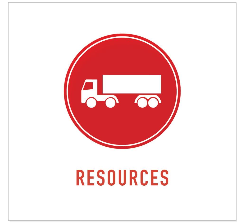 fine arts moving resources truck icon