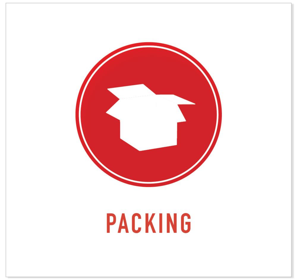 packing for local moves red box icon