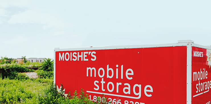 Moishe's mobile storage container