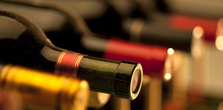 wine storage bottles in NYC
