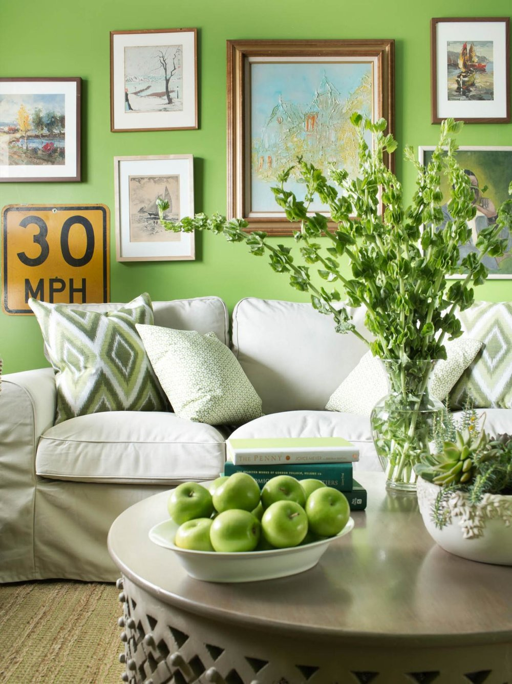 Incorporating Pantone Greenery