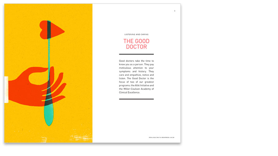 DIVIDER SPREAD: THE GOOD DOCTOR