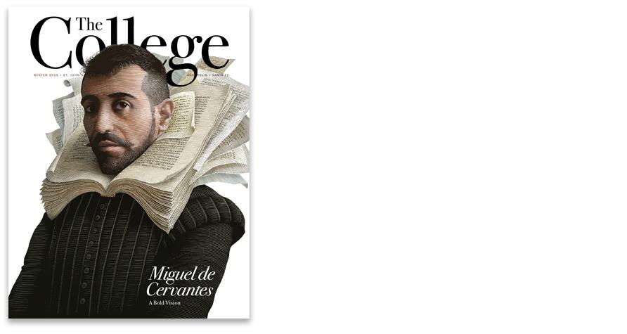 Winter 2015 cover. Illustrator: Scott McKowen