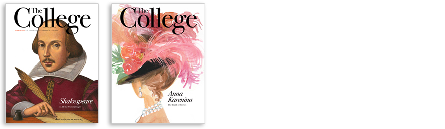 Since summer 2012, cover subjects have ranged from Shakespeare (by Marc Burckhardt) to Anna Karenina (by Gayle Kabaker).