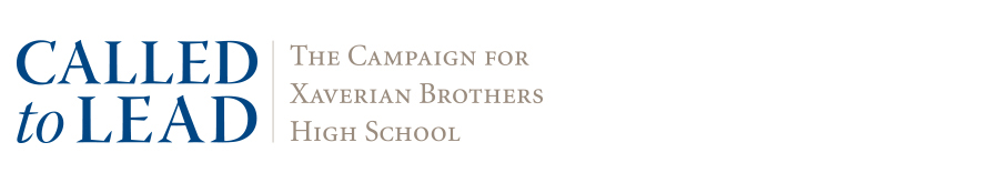 Xaverian Brothers High School Campaign Identity