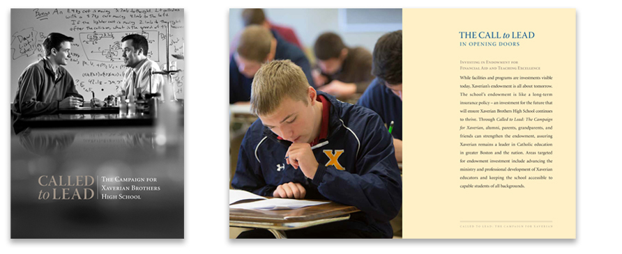 Xaverian Brothers High School Campaign Case Statement