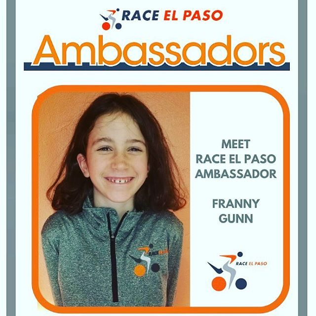 Have you meet Franny? She is the youngest Race El Paso ambassador. Read more about her in our March Newsletter. If you haven't subscribed go to raceelpaso.com and subscribe today!  #raceelpaso #elpaso #splashanddash #suncitykids