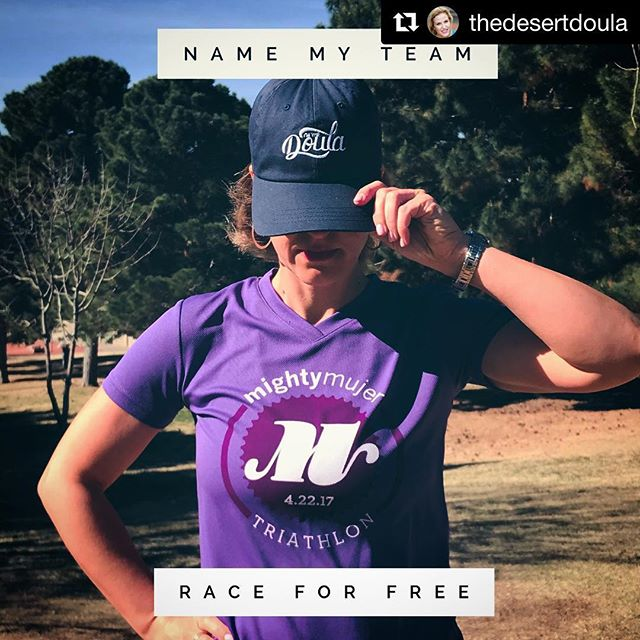 #Repost @thedesertdoula ・・・ In case you didn't know, The Desert Doula is an official sponsor of The Mighty Mujer 2018. 🏊🏽‍♀️🚵🏿‍♀️🏃🏼‍♀️ . I'm building a team, and I want you on it! Pick our name and I'll pick up your registration. . This is for FUN. Yours truly currently runs a 12-minute mile, so there are no worries about crazy competitiveness. It's all in the spirit of camaraderie and girl power. 💪🏽💋💪🏽 . See you April 21! #thedesertdoula #triathlon #girlpower . . . . . . . . #raceelpaso #themightymujer #whoruntheworld #futureisfemale #yougogirl #getoutside #swimbikerun #elpasotx #elpaso #915 #heyelpaso #itsallgoodep #camaraderie #doula #improvingbirth #whatadeal #itsfree #youwin #girlsjustwannahavefun #goodtimes #fitmom #fitmomsofig #fitnessfun #racetime #letsdothis #motivationmonday #teamworkout
