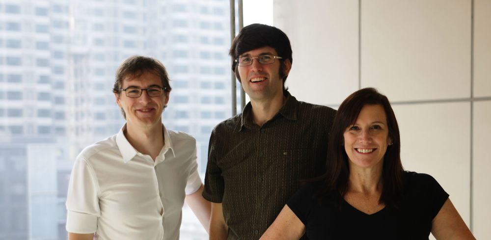 Linkitz founders: Drew Macrae, Chris Wallace, Lyssa Neel. Photo credit: Steve Cho