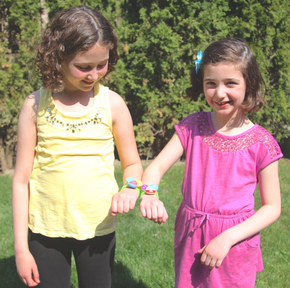 Linkitz lets girls design and build their own wearable toy. Photo: Michelle Caers.