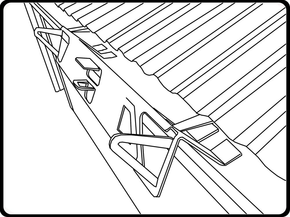 Secure Ladder Bracket