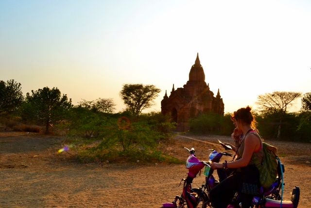 Backpacking through the ancient city of Bagan, Myanmar