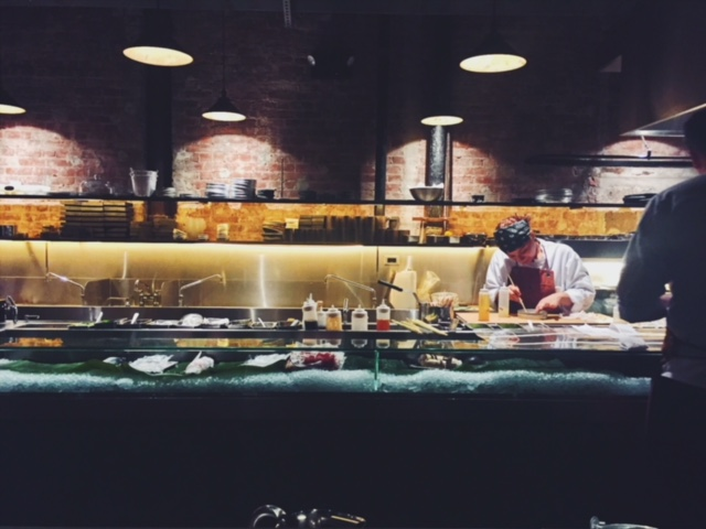Tetsu's open kitchen