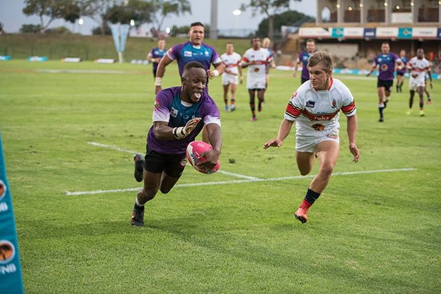 All smiles for Uwn Pukke vs Tuks at the @varsitycupsa .  #rugby #varsitycup #dive #try