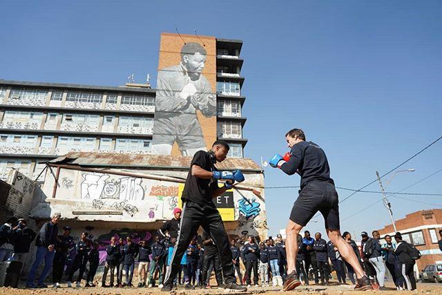 Happy birthday Nelson Mandela. Your legacy lives on! #Mandela100 #LaureusSa #shadowboxer
