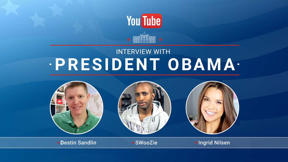 YouTube Interview with President Obama