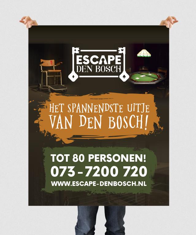 Banner van Escape Den Bosch