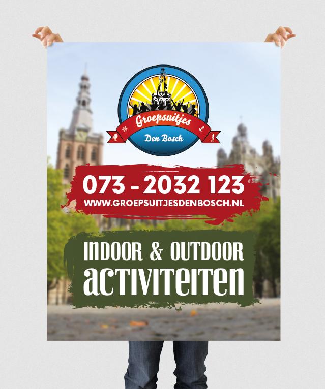 Banner van Groepsuitjes Den Bosch