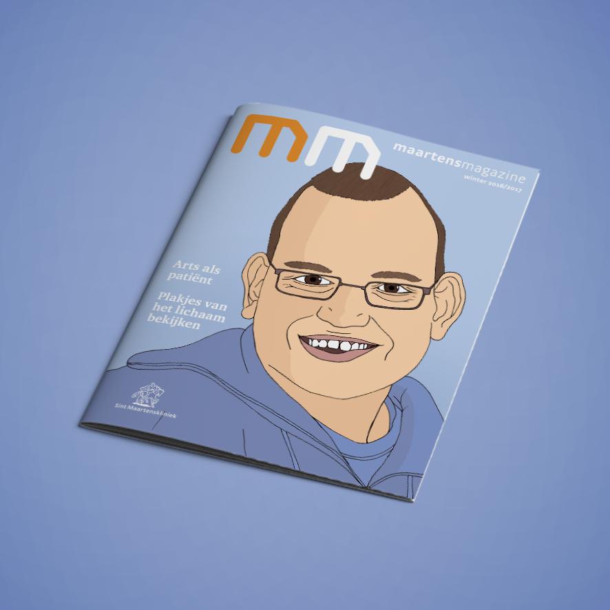 tijdschrift Cover - Sint Maartenskliniek