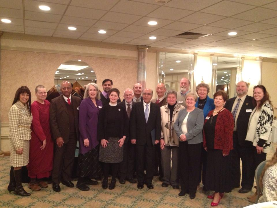 board members and Faith to Faith graduates, 2014