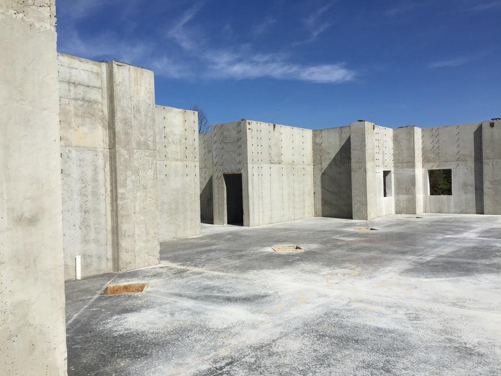 Construction progress Tates Creek Baptist Church March 2015