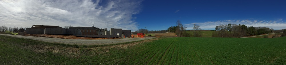 Tates Creek Baptist Church construction progress