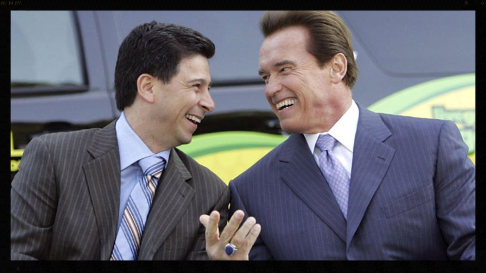 FabianNuñez and Arnold Schwarzenegger
