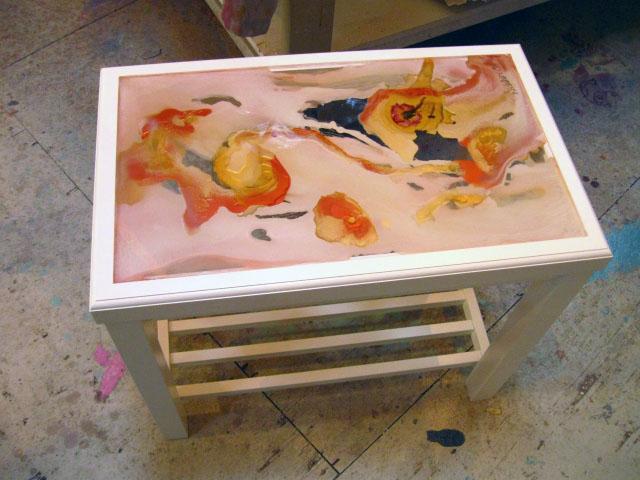 Copy of Little Bath Table #1
