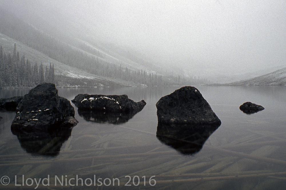 Consolation Lake, Alberta, Canada