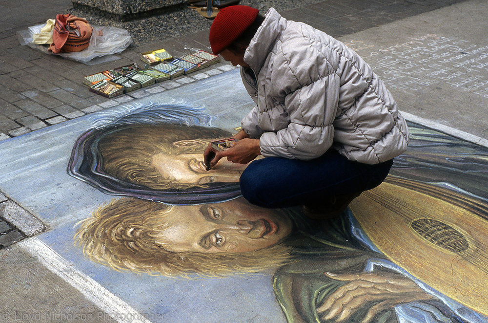 Street Artist, Calgary Alberta