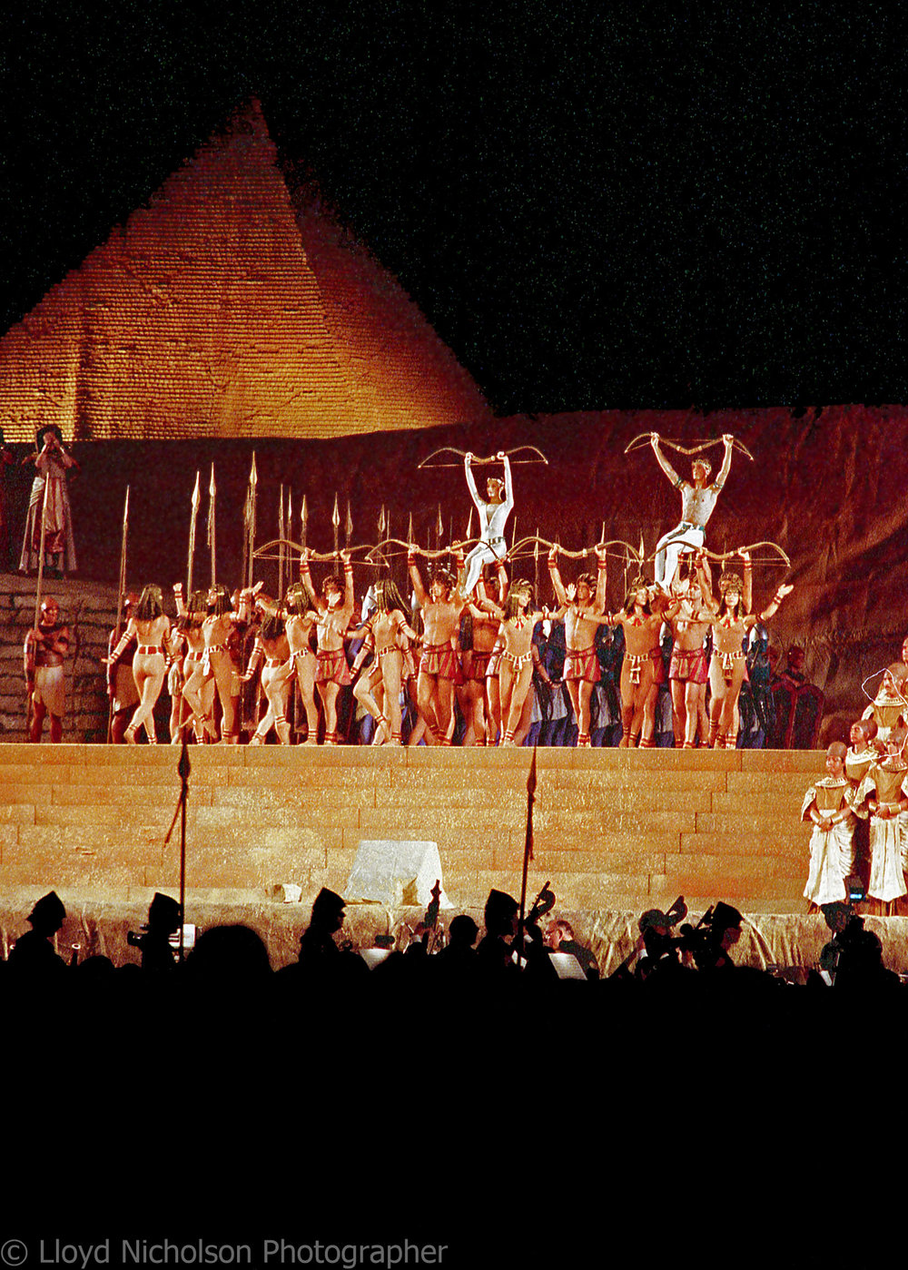 World Opera Production of AIDA
