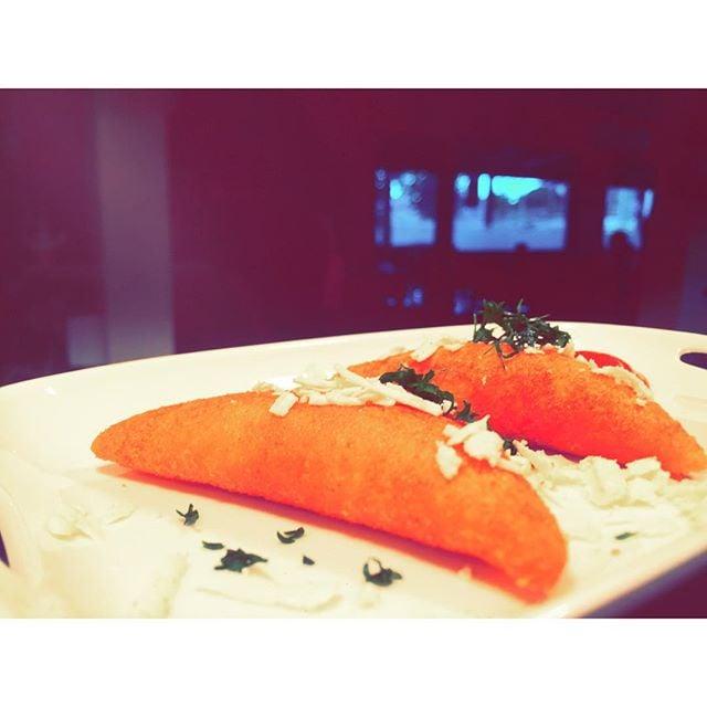 #empanadascolombianas @villamaria_restaurant.  #querico #yum #camphill #villamariarestaurant #villamaria #brisbane #discover #glutenfree #fresh #handmade #authenticcuisine #food #foodie #brisbaneeats