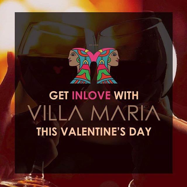 WIN dinner for 2 at your favourite restaurant VILLA MARIA for Valentines Day💞💞. Just snap a photo while dining with us, upload to instagram and tag us at @villamaria_restaurant! What a lovely surprise it could be for that special someone 😍😍😍😍😍. Get snapping and Good luck!!!