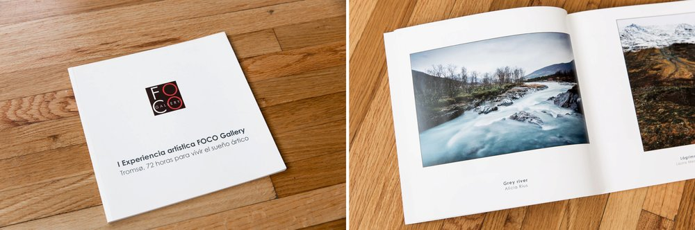 Foco Gallery landscape photography book (Madrid, Spain)