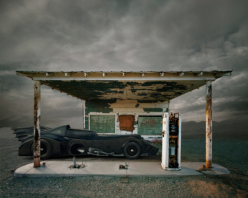 'Bat station', featuring Ed Freeman