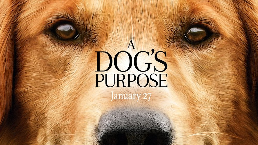 A dog-s purpose movie poster.