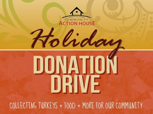 Holiday Donation Drive Update Community Action House