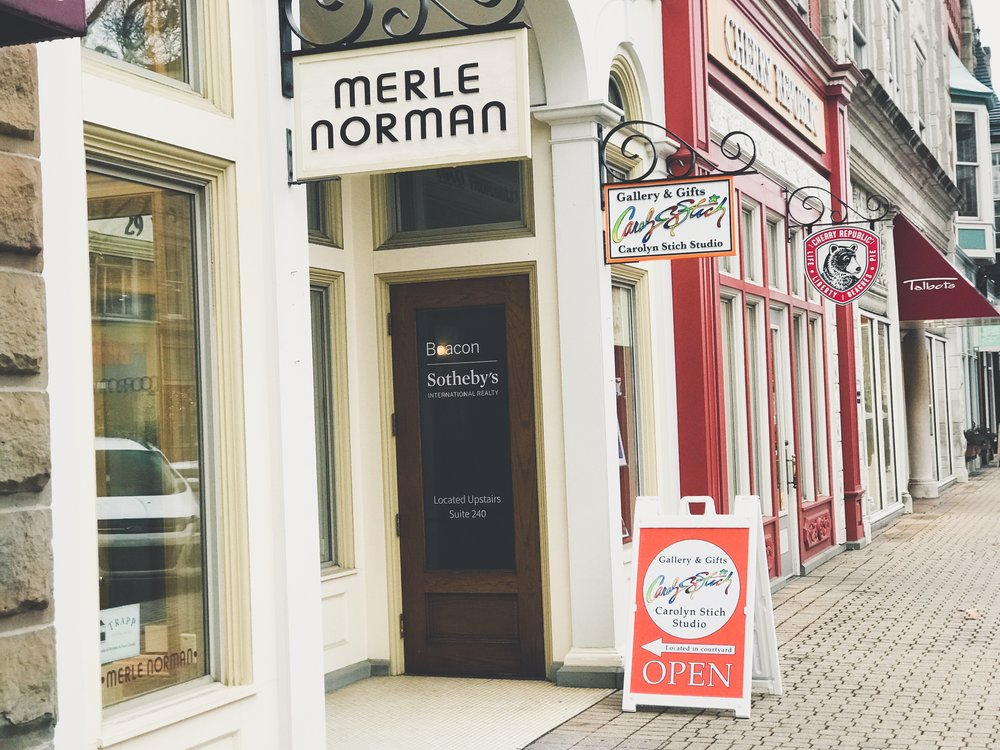 Merle Norman Cosmetics | 29 ½ E 8th St | Downtown Holland
