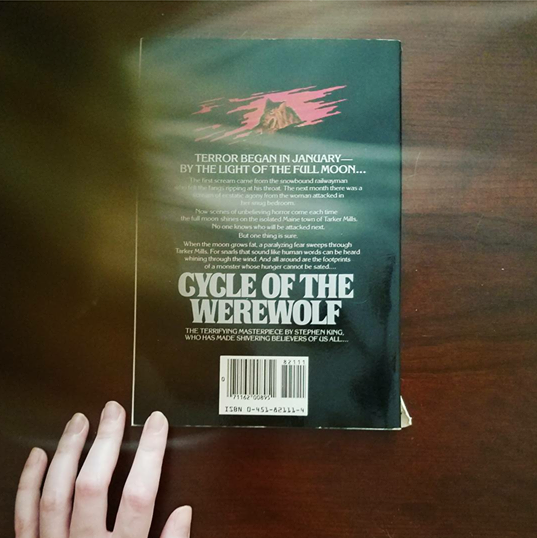 Cycle of the Werewolf back